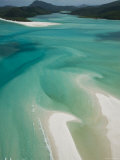 Australia  Queensland  Whitsunday Coast  Whitsunday Islands  Whitehaven Beach  Aerial View