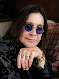 Ozzy Osbourne Singer  Lead Singer with Rock Band Black Sabbath  October 1998