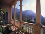 Verandah of Mansion  Son Marroig  Majorca  Spain