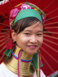 Thailand  Chiang Rai  Long Neck Karen Hilltribe  Long Neck Woman