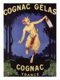 France - Cognac Gelas Promotional Poster
