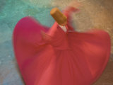 Whirling Dervishes  Performing the Sema Ceremony  Istanbul  Turkey
