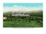 Bretton Woods  NH - Mt Washington Hotel  Presidential Range in September