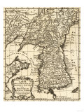 Korea - Panoramic Map