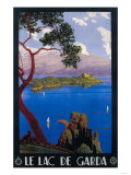 Italy - Lake Garda Travel Promotional Poster