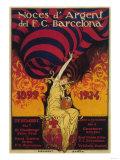 Barcelona  Spain - Soccer Promo Poster