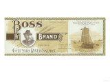 Pillar Rock  Washington - Boss Salmon Label