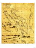 Nicaragua - Panoramic Map