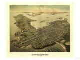 Newport  Rhode Island - Panoramic Map