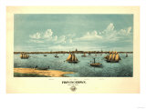 Provincetown  Massachusetts - Panoramic Map
