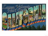 Lassen Volcanic National Park  CA - Large Letter Scenes