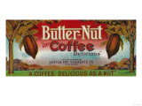 Butter Nut Coffee Label - Omaha  NE