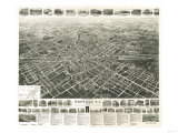 Westfield  New Jersey - Panoramic Map