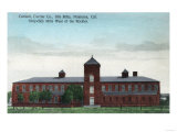 Exterior View of the Currier Co Silk Mills - Petaluma  CA