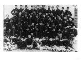 Greek Infantry Officers Photograph - Greece