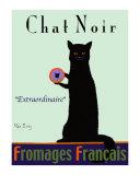 Chat Noir - Black Cat Reproduction pour collectionneurs par Ken Bailey