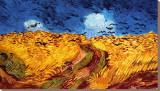 Le Champs de blé aux corbeaux, 1890 Tableau sur toile par Vincent Van Gogh