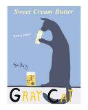 Gray Cat Reproduction pour collectionneurs par Ken Bailey
