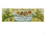 Savon Des Gentils Bebes Soap Label - Reims  France