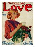 Thrilling Love Magazine Cover