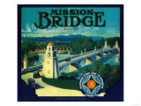 Mission Bridge Orange Label - Riverside  CA