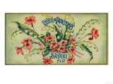 Reveil De Printemps Soap Label - Paris  France