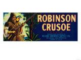 Robinson Crusoe Melon Label - Niland  CA