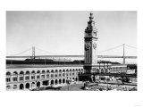 San Francisco  CA Ferry Building Waterfront Photograph - San Francisco  CA