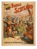 Sidney R Ellis' Bonnie Scotland Scottish Play Poster No3