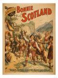 Sidney R Ellis' Bonnie Scotland Scottish Play Poster No4