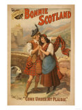 Sidney R Ellis' Bonnie Scotland Scottish Play Poster No2