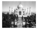 Taj Mahal in Agra  India Photograph - Agra  India