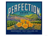 Perfection Orange Label - Colton  CA