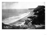 Aerial View of the Beach Front - Bolinas  CA