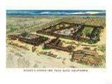 Aerial View of Rickey's Studio Inn - Palo Alto  CA