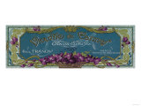 Violette De Cannes Soap Label - Paris  France