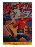 Western Trails Magazine Cover
