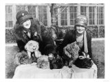 Women with their Persian Cats at Cat Show Photograph - Washington  DC