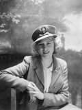 Princess Elizabeth  Seen in Photograph at 16 Years Old  England