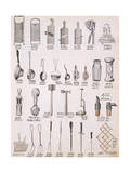 Kitchen Utensils  from a Trade Catalogue of Domestic Goods and Fittings  c1890-1910