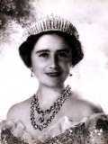 Her Majesty Queen Elizabeth  the Queen Mother  in Tiara and Gown  4 August 1900 - 30 March 2002