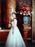 Portrait of Elizabeth II  Born 21 April 1926