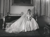 Portrait of the Late Princess Margaret on Her Wedding Day