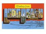 Greetings from Long Beach  California