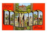 Greetings from Rockford  Illinois