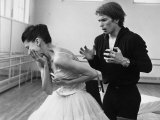Rudolf Khametovich Nureyev and Margot Fonteyn Rehearsing Marguerite and Armand  England