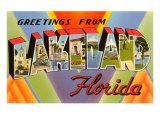 Greetings from Lakeland  Florida