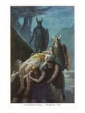 Death of Siegfried  Twilight of the Gods