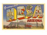 Greetings from Mesa  Arizona