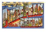 Greetings from Pikes Peak Region  Colorado
